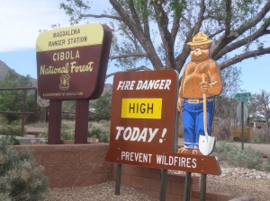Fire danger in Cibola is High in early May