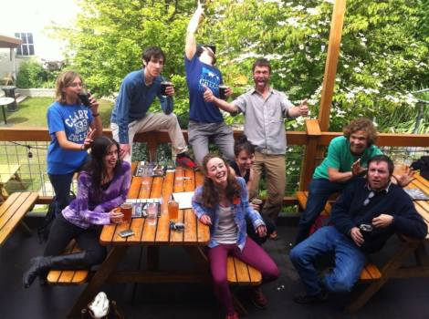 I love these wacky botanists. Eric, Sam, Barry, Mia, Hannah, Alicia, and Caleb you all rock! Oh and you too Mack.