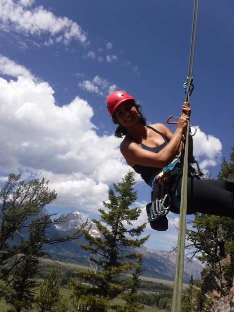 Kaylie Grey, on Belay!